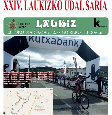 El sábado 23 de marzo se disputa la Laukizko Udal Saria sub23